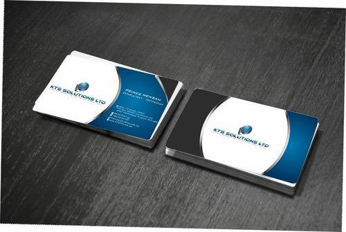 KTS SOLUTIONS Business Cards and Stationery  Draft # 159 by Deck86