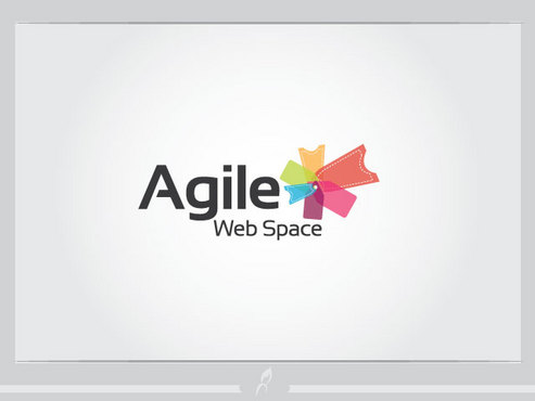 Agile Web Space A Logo, Monogram, or Icon  Draft # 20 by Logoziner