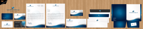 KTS SOLUTIONS Business Cards and Stationery Winning Design by einsanimation
