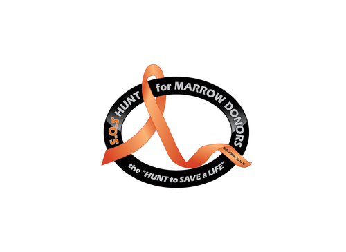 "S.O.S  HUNT for MARROW DONORS ----the ""HUNT to SAVE a LIFE"" ---- Bob Walker 10-17-12       Logo Winning Design by PeterZ"