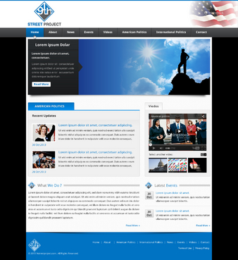 9th St Project Complete Web Design Solution  Draft # 46 by jogdesigner