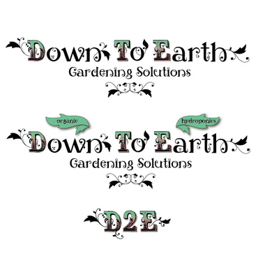 Down To Earth Gardening Solutions A Logo, Monogram, or Icon  Draft # 38 by melody1