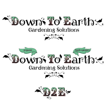 Down To Earth Gardening Solutions A Logo, Monogram, or Icon  Draft # 39 by melody1