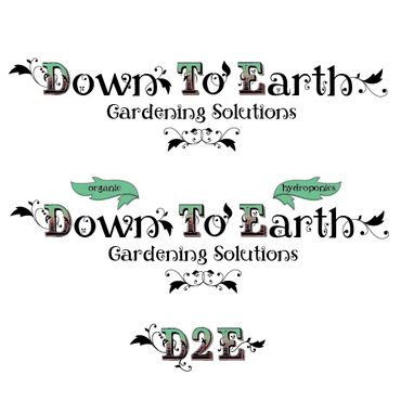 Down To Earth Gardening Solutions A Logo, Monogram, or Icon  Draft # 40 by melody1