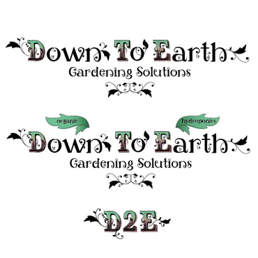 Down To Earth Gardening Solutions Logo Winning Design by melody1