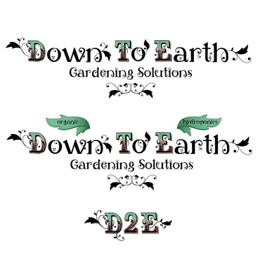 Down To Earth Gardening Solutions A Logo, Monogram, or Icon  Draft # 43 by melody1