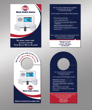 Flyer and Door Knob Flyer Marketing collateral  Draft # 4 by Rozita