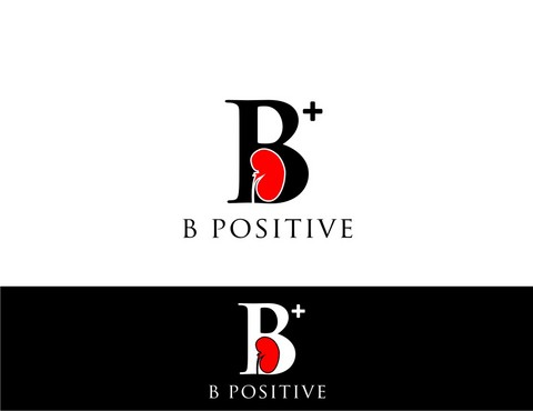 B positive  Logo Winning Design by nellie