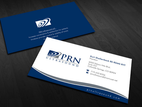 PRN Ultrasound Business Cards and Stationery  Draft # 16 by Xpert