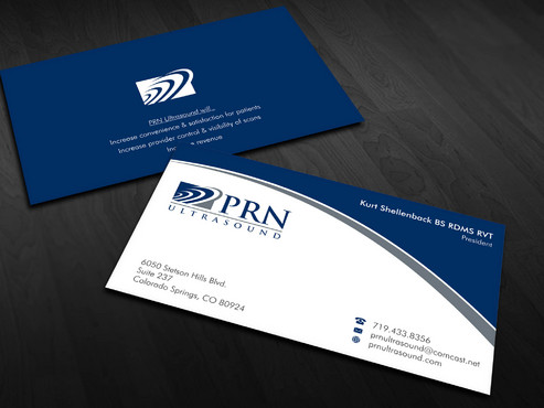 PRN Ultrasound Business Cards and Stationery  Draft # 19 by Xpert