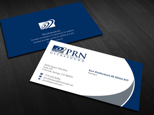 PRN Ultrasound Business Cards and Stationery  Draft # 18 by Xpert