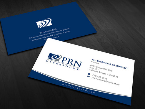 PRN Ultrasound Business Cards and Stationery  Draft # 17 by Xpert