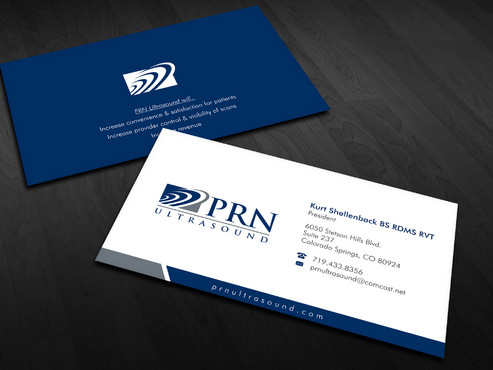 PRN Ultrasound Business Cards and Stationery  Draft # 20 by Xpert