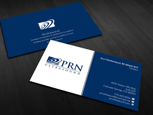 PRN Ultrasound Business Cards and Stationery  Draft # 22 by Xpert