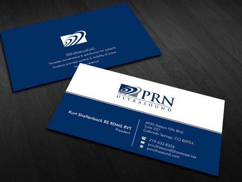PRN Ultrasound Business Cards and Stationery  Draft # 21 by Xpert