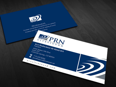 PRN Ultrasound Business Cards and Stationery  Draft # 23 by Xpert