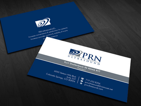 PRN Ultrasound Business Cards and Stationery  Draft # 24 by Xpert