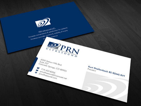 PRN Ultrasound Business Cards and Stationery  Draft # 25 by Xpert