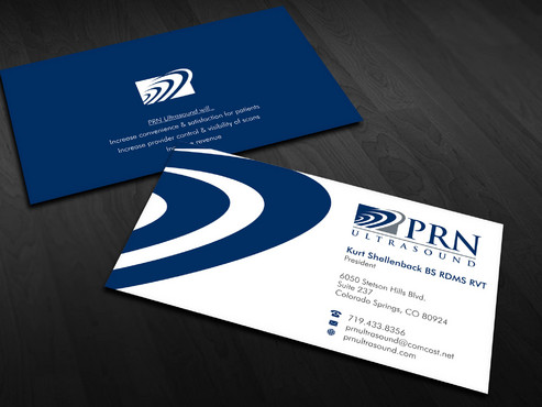 PRN Ultrasound Business Cards and Stationery  Draft # 26 by Xpert