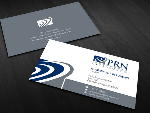 PRN Ultrasound Business Cards and Stationery  Draft # 28 by Xpert
