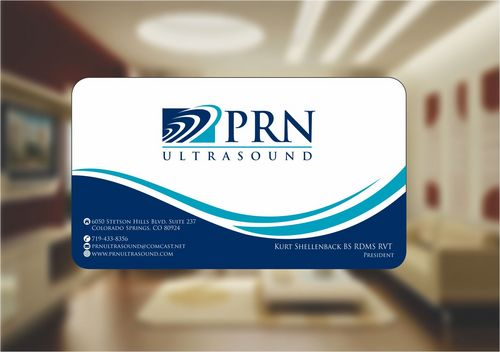 PRN Ultrasound Business Cards and Stationery  Draft # 162 by Deck86
