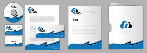 Nuvio Business Cards and Stationery  Draft # 268 by jpgart92