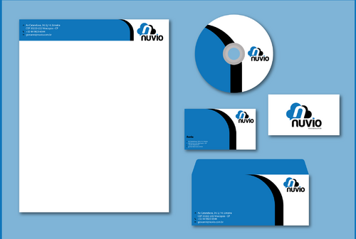 Nuvio Business Cards and Stationery  Draft # 275 by jpgart92