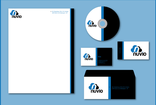 Nuvio Business Cards and Stationery  Draft # 278 by jpgart92