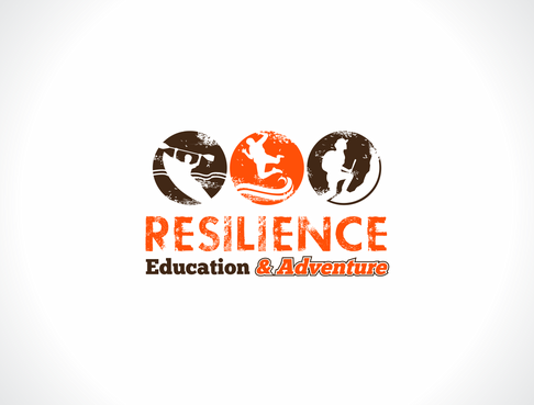 Resilience Education and Adventure. Logo Winning Design by dweedeku
