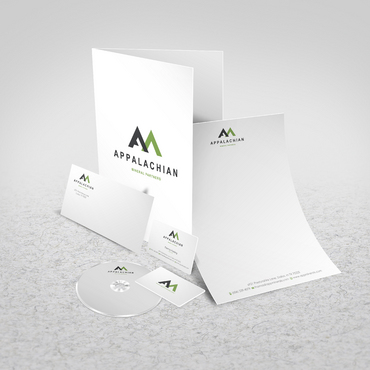 Appalachian Mineral Partners Business Cards and Stationery  Draft # 96 by sevensky