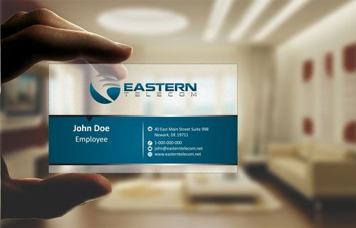 Eastern Telecom Business Cards and Stationery  Draft # 117 by Deck86
