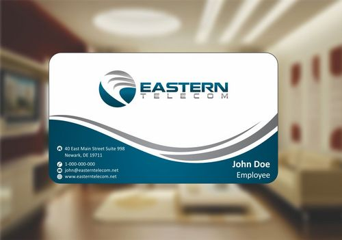 Eastern Telecom Business Cards and Stationery  Draft # 119 by Deck86