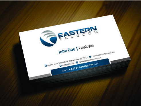 Eastern Telecom Business Cards and Stationery  Draft # 127 by Deck86