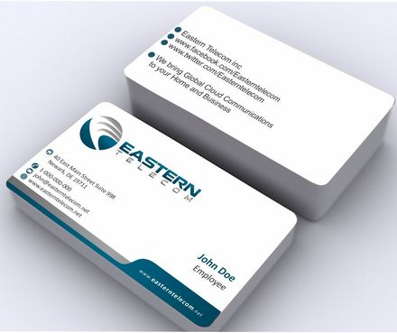 Eastern Telecom Business Cards and Stationery  Draft # 131 by Deck86