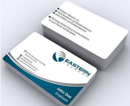 Eastern Telecom Business Cards and Stationery  Draft # 139 by Deck86