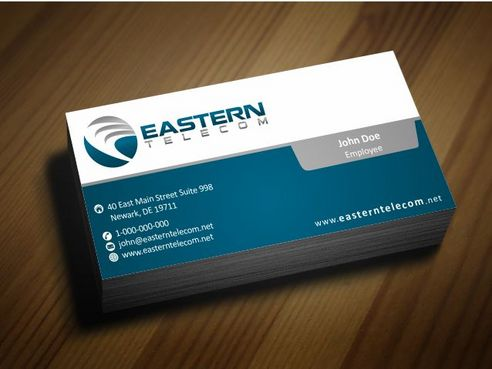 Eastern Telecom Business Cards and Stationery  Draft # 142 by Deck86