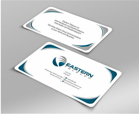 Eastern Telecom Business Cards and Stationery  Draft # 144 by Deck86