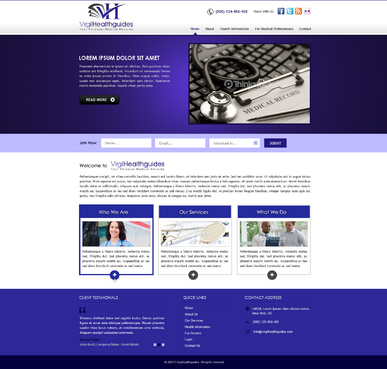 Your Personal Medical Records Complete Web Design Solution  Draft # 9 by kalyan
