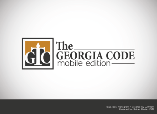 The Georgia Code: Mobile Edition A Logo, Monogram, or Icon  Draft # 3 by SpiraelD