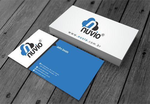Nuvio Business Cards and Stationery  Draft # 281 by xtremecreative3