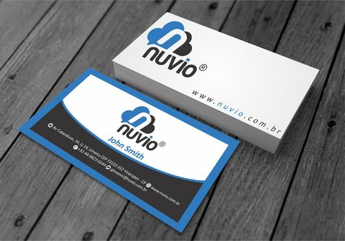Nuvio Business Cards and Stationery  Draft # 284 by xtremecreative3