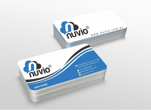 Nuvio Business Cards and Stationery  Draft # 293 by xtremecreative3