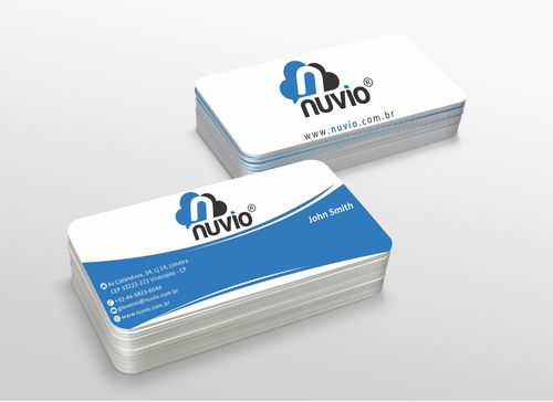 Nuvio Business Cards and Stationery  Draft # 294 by xtremecreative3