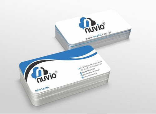 Nuvio Business Cards and Stationery  Draft # 299 by xtremecreative3