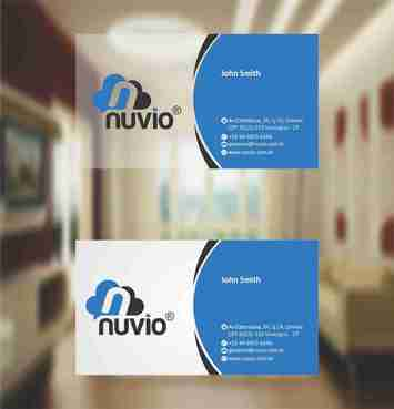 Nuvio Business Cards and Stationery  Draft # 302 by xtremecreative3