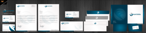 Eastern Telecom Business Cards and Stationery Winning Design by einsanimation
