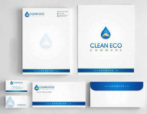 "Business moto is "" Making life clean and easy"" Business Cards and Stationery  Draft # 276 by Deck86"