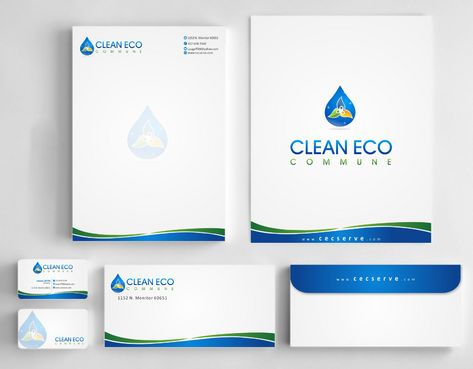 "Business moto is "" Making life clean and easy"" Business Cards and Stationery  Draft # 279 by Deck86"