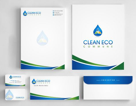 "Business moto is "" Making life clean and easy"" Business Cards and Stationery  Draft # 280 by Deck86"