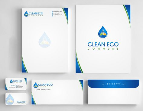 "Business moto is "" Making life clean and easy"" Business Cards and Stationery  Draft # 281 by Deck86"